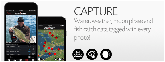 Fishing Photos That Tag Environmental Data