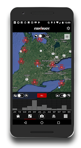Fishing App - FISHBUOY Fishing Hotspots