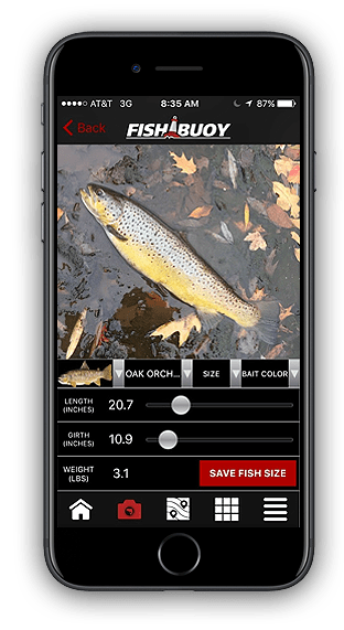 Fishing App - FISHBUOY Length Girth Weight Calculator