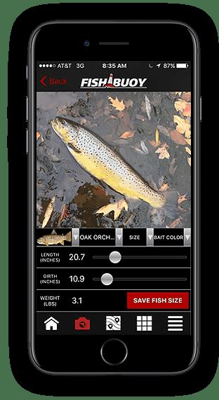 Fishing App - FISHBUOY Length Girth Weight Calculator