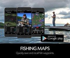 Fishing App - FISHBUOY Pro places each photo on your map, including having the ability to view tons of other data types.