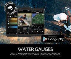 Fishing App - FISHBUOY Pro water gauges