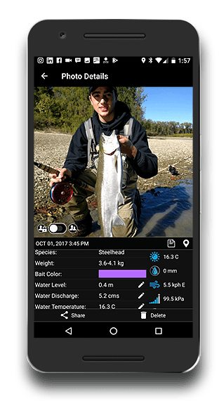 Fishing App - FISHBUOY Pro Photo Details