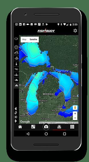 Fishing App - FISHBUOY Pro Marine Maps