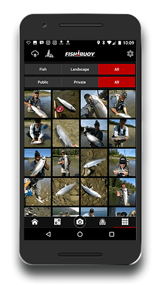 Fishing App - FISHBUOY Fishing Photo Gallery