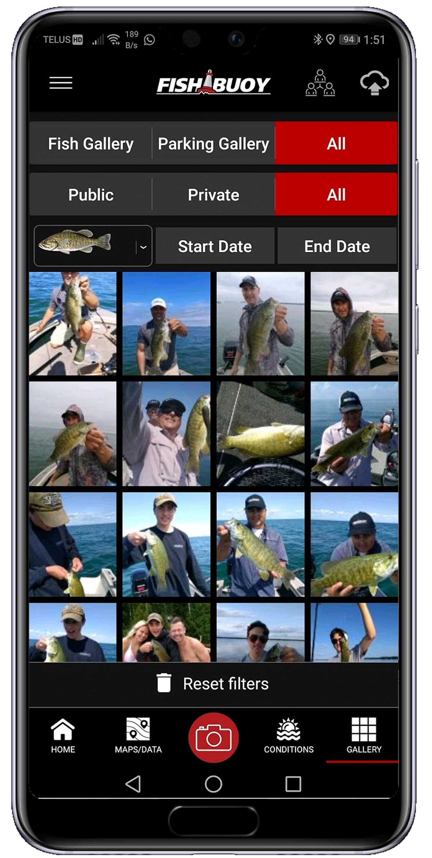 Manage and control your fishing history in one place!