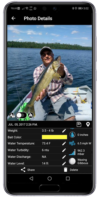Fish Catch Digital Logs