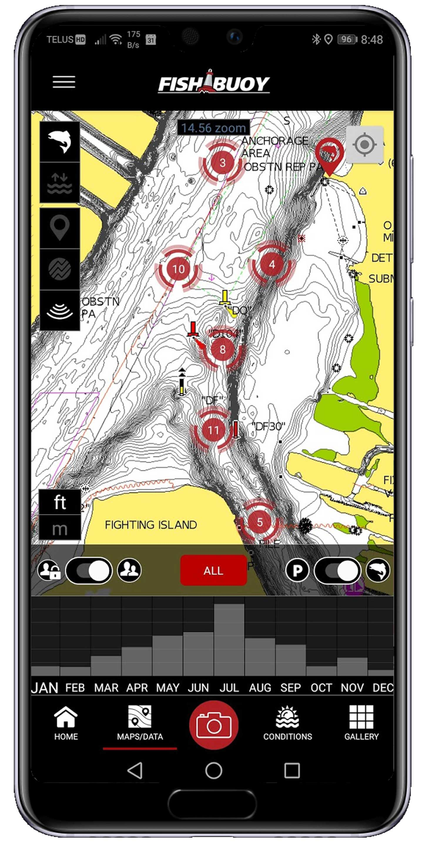 Real-Time Weather Data for Anglers 8