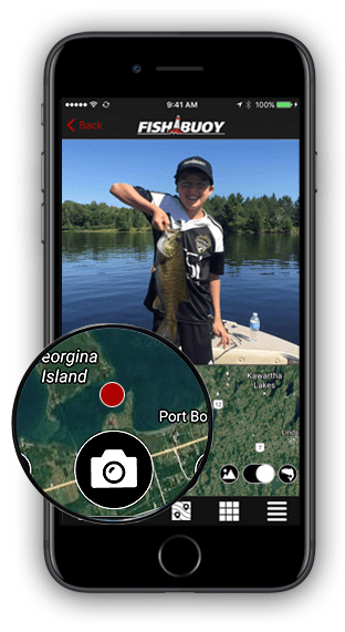 FISHBUOY Mobile App - Take Photo