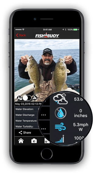 FISHING FORECAST FISHBUOY APP