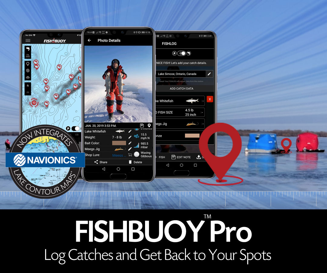 FISHBUOY Pro Fishing App for North Americal Anglers